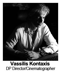 Vassilis Kontaxis DC Director and Cinematographer